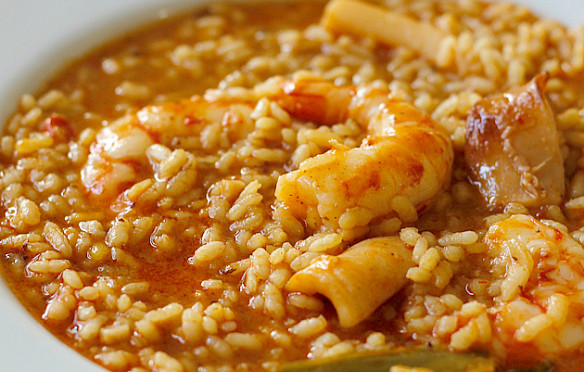"Arroz caldoso con bogavante del blog ""Foodmorning"""
