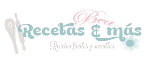 """Logo del blog """"Bea, recetas y más"""""""