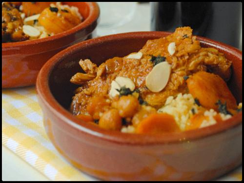 """Cordero al estilo moruno del blog """"Recetas de Tía Alia"""", una receta con albaricoques."""