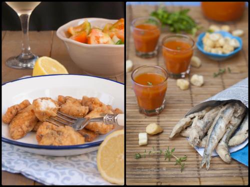 Fritura andaluza en nuestras recetas mirando al mar de nuestro top 5 semanal