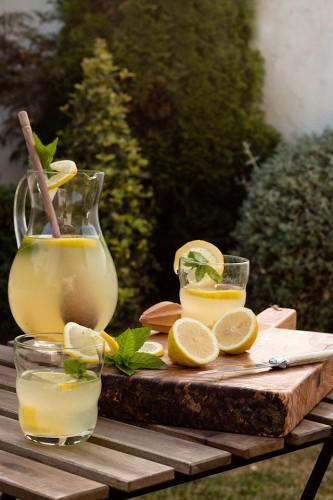 Bebidas de barbacoa: Limonada sureña de Sweet & sour
