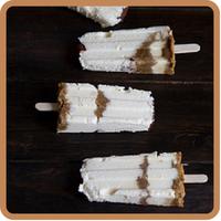 Polos de tiramisu en nuestras recetas mirando al mar de nuestro top 5 semanal