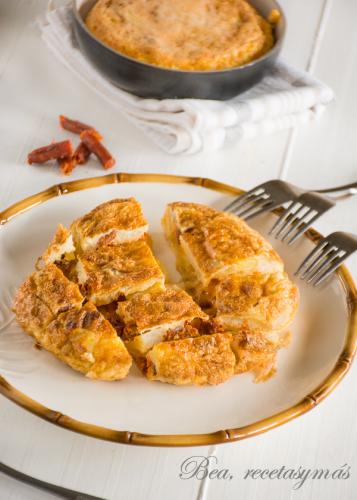 Un clásico es también una buena tortilla de patatas (Bea, recetas y más)