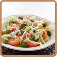 """Ensalada griega del blog """"Pepacooks"""", una receta fresca y muy veraniega"""