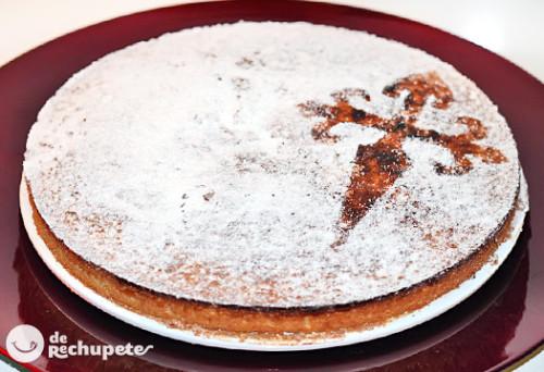Tarta de Santiago , la receta tradicional gallega de manos de Recetas de rechupete