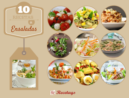10 recetas de ensaladas muy apetecibles