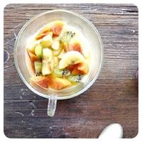 natillas fruta
