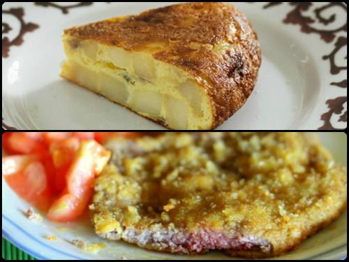 Un dúo clásico en días de playa y excursiones: tortilla de patatas y filetes empanados