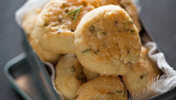 Galletas de parmesano y romero de Nina's kitchen del top 5 semanal de recetags