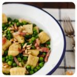 Gnoccis de guisantes de Entrando en la cocina con Claire, para el top 5 semanal de recetags