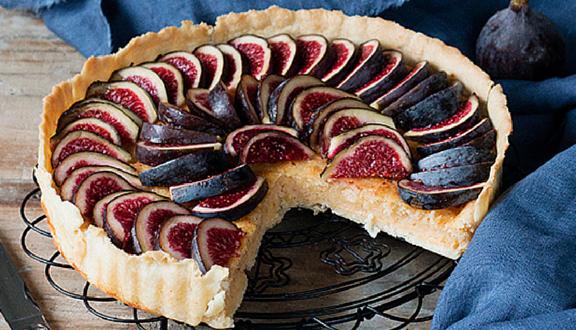 Tarta de higos de sweet & sour para el top 5 semanal de recetags