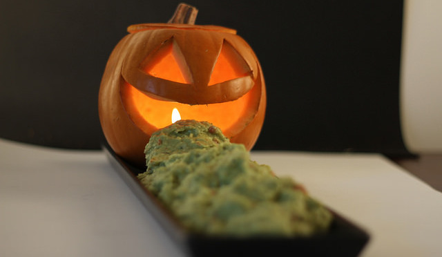 receta de Calabaza con vísceras de Halloween