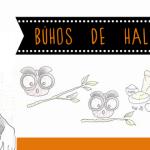 Búhos de Halloween. Receta ilustrada