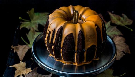 Tarta de calabaza de Loleta, Life , market y cooking para Halloween de Recetags