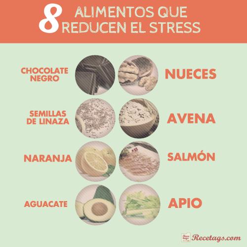 8 alimentos que reducen el estrés