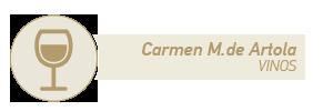 Carmen M. de Artola colaboradora de la sección de vinos del blog de Recetags