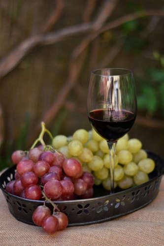 Bocados emocionales: uvas de aquí y de allá. Espacio de Raquel Contador para Recetags