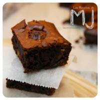 Brownie de ferrero rocher de Las recetas de MJ para el top5 recetas de la semana en Recetags