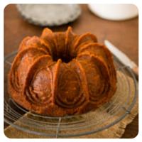 Bundt cake de zanahoria de Sweet magazine para el top5 semanal de Recetags