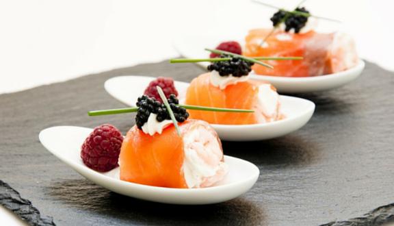Bocaditos de salmón y queso de La cocina de Frabisa para el top5 recetas semanal de Recetags