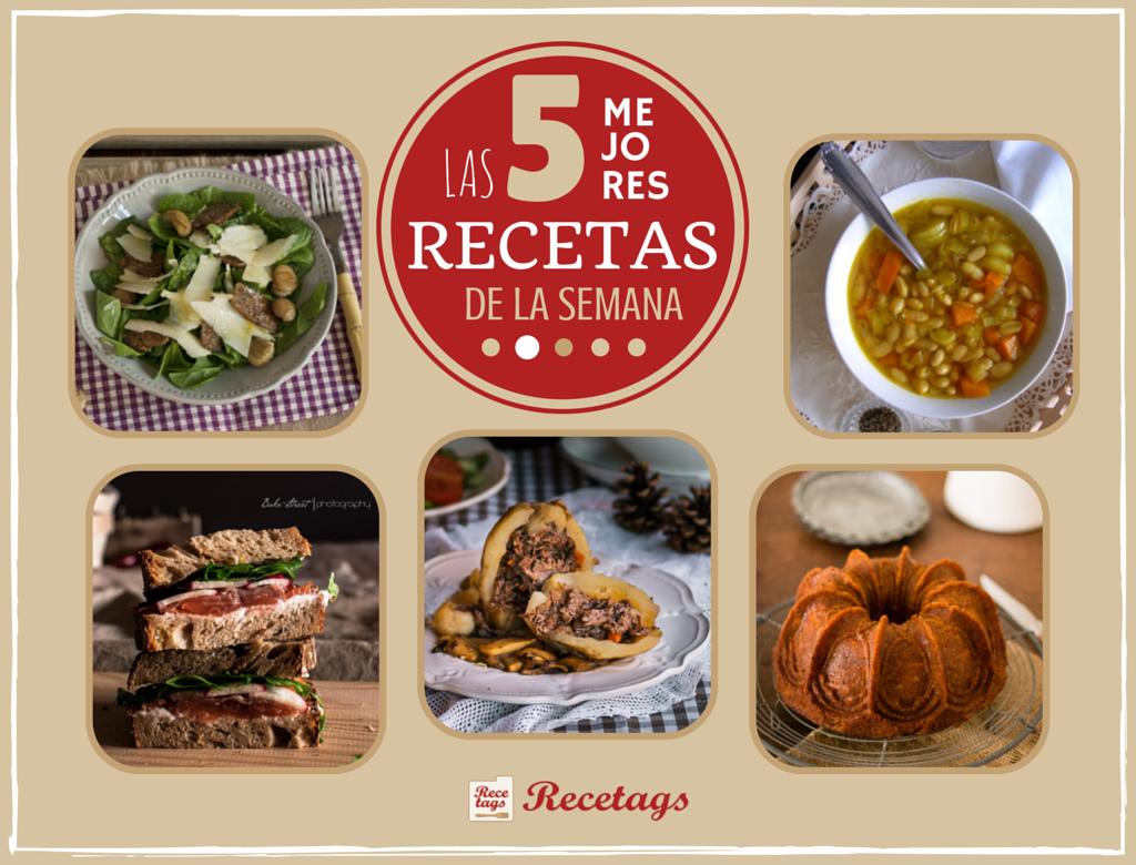 Top5 semanal de recetas para el otoño de Recetags