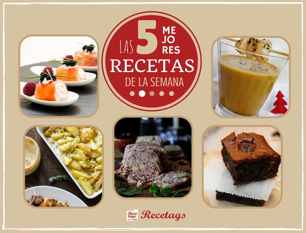 Top 5 semanal de recetas mirando a la Navidad