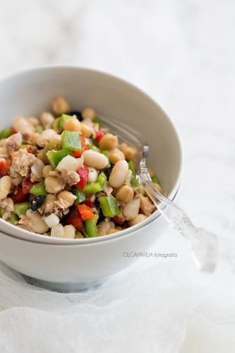 Incorpora platos de la dieta Mediterránea, como este Empedrado de Nina's Kitchen