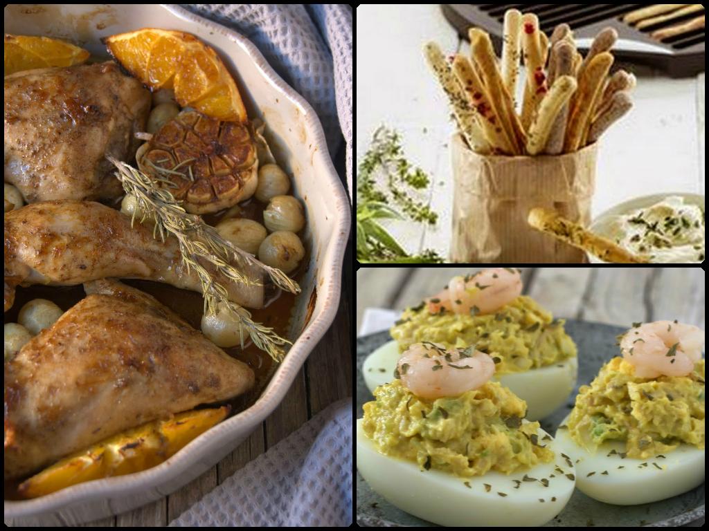 Recetas saladas del blog Cosas con encanto