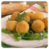 receta croquetas de queso y cebolla