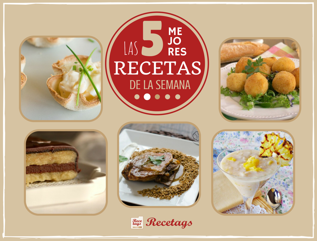 top5 semanal recetas recetags