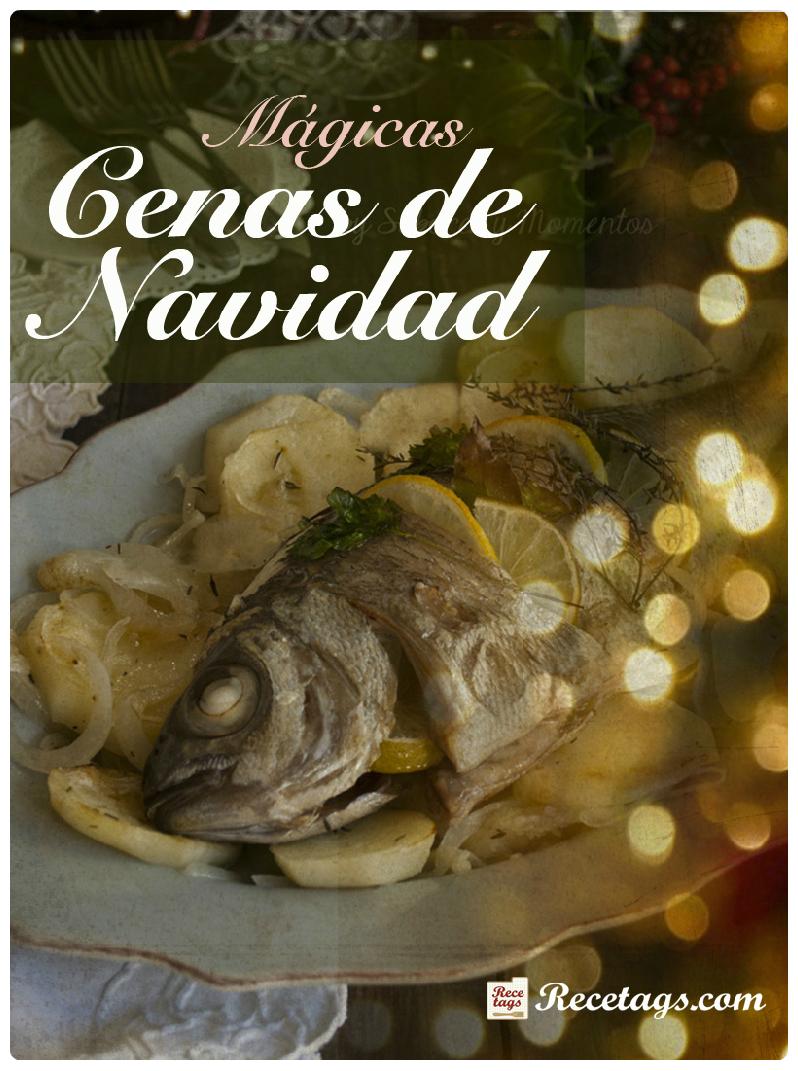 recetario cena navideña