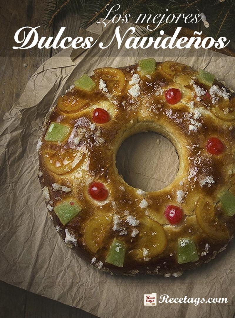 Recetario dulces navideños