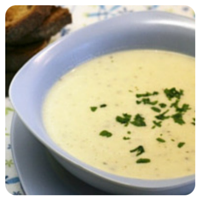 Crema de calabacín, un plato de comida sana en nuestro top 5 semanal