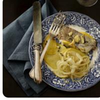 Besugo al horno, un plato de comida sana en nuestro top 5 semanal
