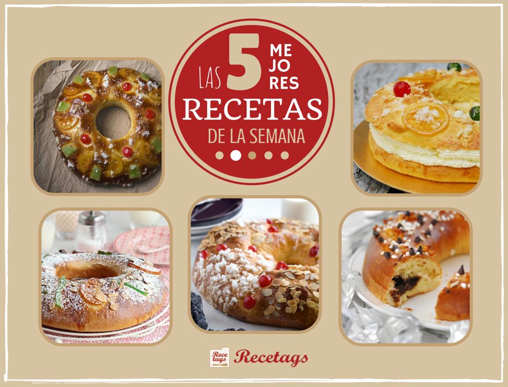 Los mejores Roscones de Reyes en nuestro Top 5 semanal