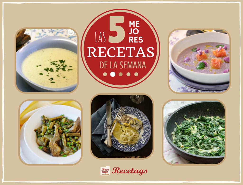 Una selecciónde platos de comida sana en nuestro top 5 semanal