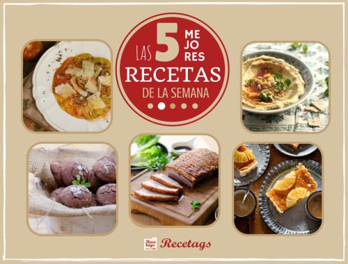 Recetas económicas para un menú completo en el Top 5 semanal