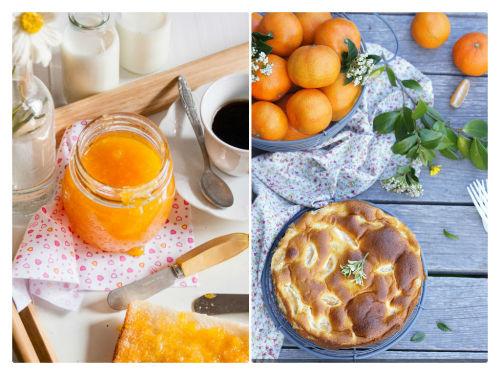 Elaboraciones dulces a base de mandarinas
