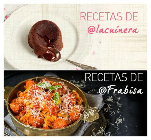 Recetarios de La Cuinera y La cocina de Frabisa