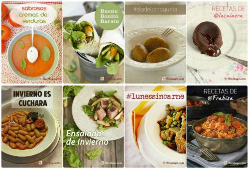 Nuestros 8 recetarios para el mes de enero