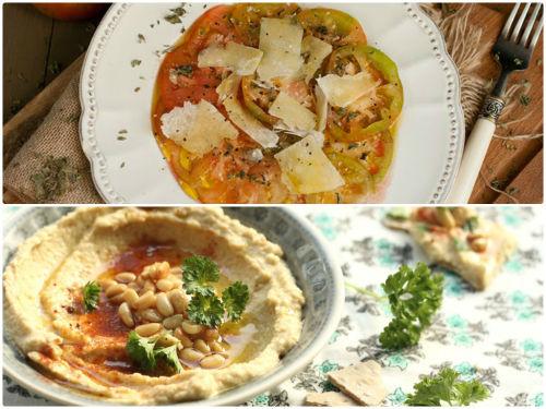 Carpaccio y Hummus en nuestro top 5 semanal