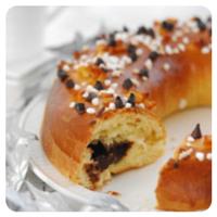 Roscón de Reyes relleno de ganache de chocolate en nuestro Top 5 semanal