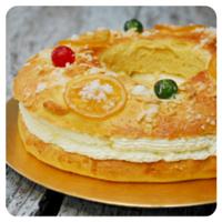 Roscón de Reyes relleno de nata en nuestro Top 5 semanal