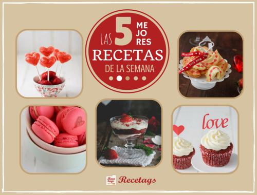 Las mejores recetas de dulces para San Valentín