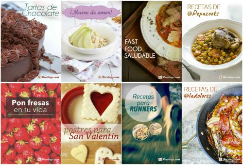 Nuestros 8 recetarios para el mes de febrero