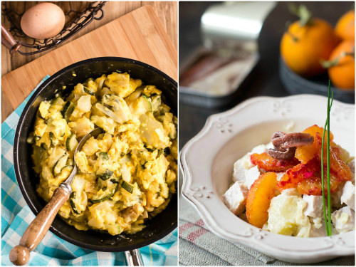 Zarangollo y Ensalada, dos recetas ricas para compartir