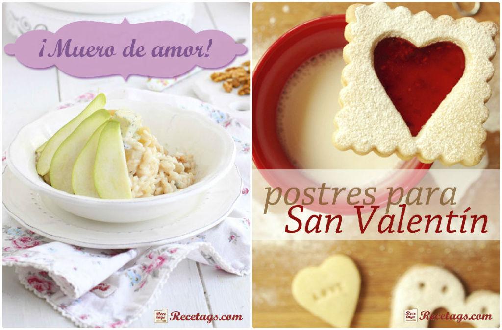 Recetarios para el día de San Valentín