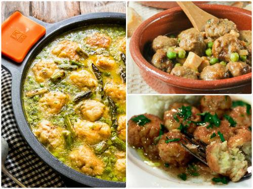 10 recetas de albóndigas en la que no pueden faltar las de pescado