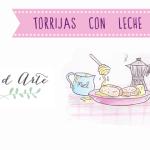 Receta ilustrada de Torrijas con leche de coco