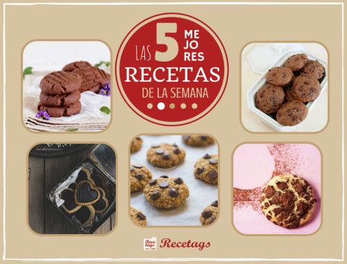Recetas de galletas de chocolate en nuestro top 5 semanal